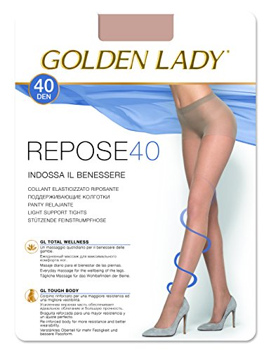 Golden Lady Ruhe Strumpfhosen 40den Smoke Gray Größe XL 36G