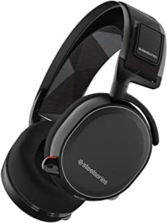 Steelseries Arctis 7, Lag-Free Wireless Gaming Headset, Dts 7.1 Surround For Pc, Pc/Mac/Playstation 4 / Android/Vr - Black...