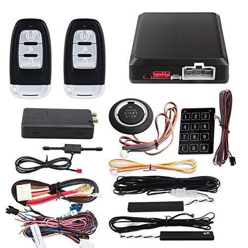 GLLXPZ aplicación de teléfono inteligente 4G 3G 2G sistema de entrada sin llave de arranque automático móvil parada inteligente controlador de botón