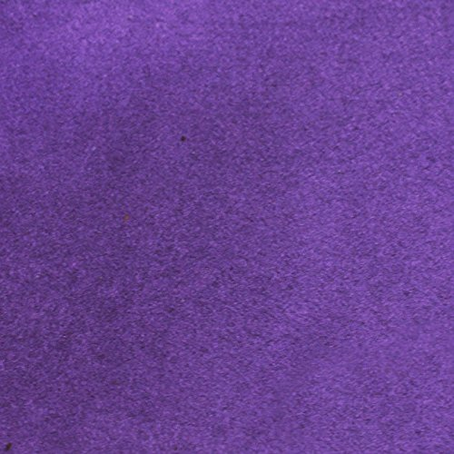 """MICRO SUEDE (SUEDE) FABRIC 58""""/60"""" WIDE SOLD BY THE YARD FOR UPHOLSTERY - purple"""
