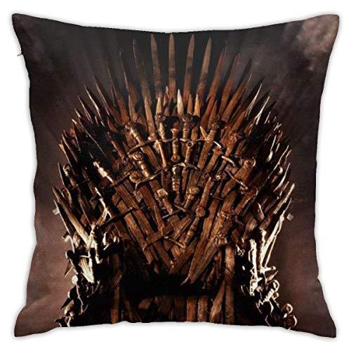 SSHELEY Juego de Tronos Decorativos Cuadrados Throw Pillows Cojines Fundas de Cojines Fundas de Almohada para sofá Decoración del hogar Ropa de Cama