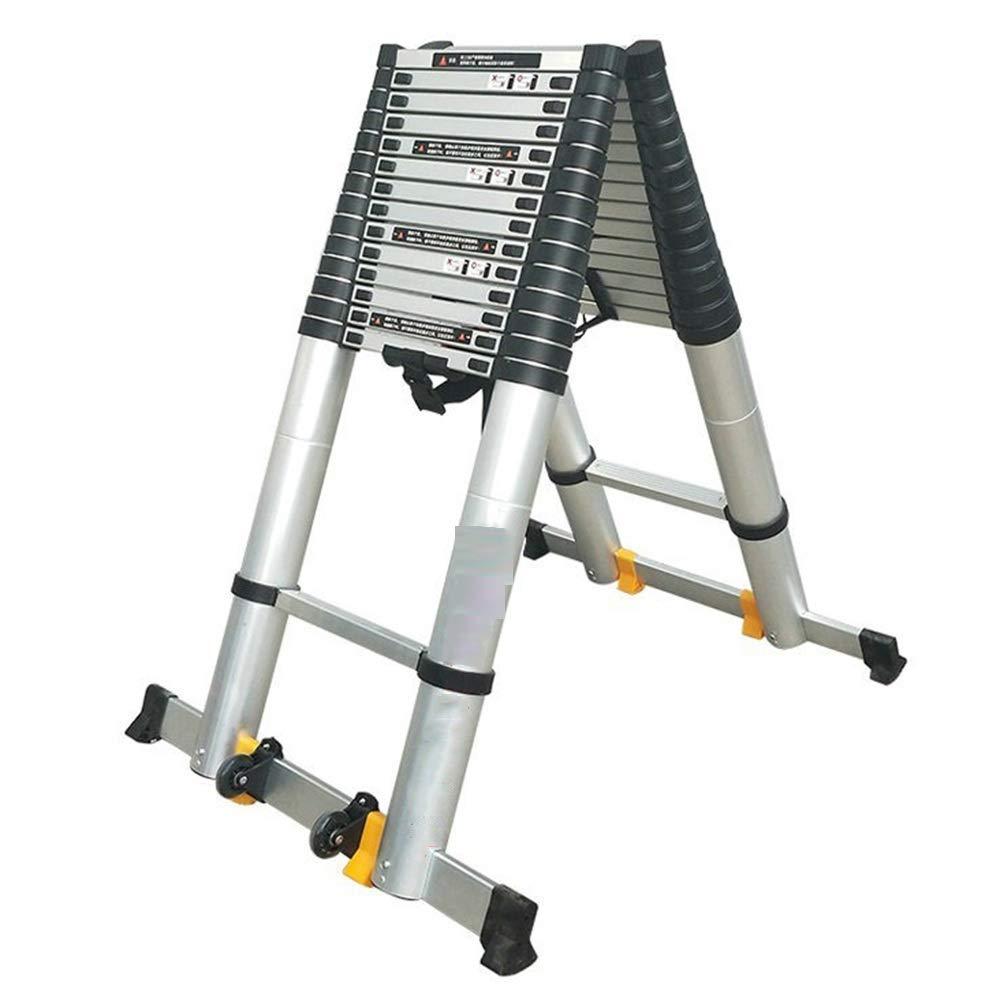 Extensibles Escalera telescópica de espiga de bricolaje Loft Ático Escalera para Power Garden Builder 4.6m + 4.6m: Amazon.es: Bricolaje y herramientas
