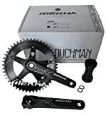 Mekha Duchman Track Crankset with External Bottom Bracket and BCD 144
