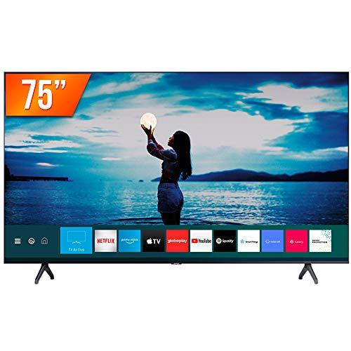 "Smart TV LED 75"" Ultra HD 4K Samsung 75TU7020 Crystal 2 HDMI 1 USB Bluetooth"