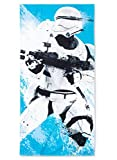 Star Wars Blue Flame Storm Trooper Beach Towel - 28 x 58