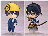 HYJWYAS Touken Ranbu Online Mikazuki Munechika Q-Version PVC Anime Dibujos Animados Juego Personaje Modelo Estatua Figura Juguete Coleccionables Decoraciones Regalos Favorito por Anime Fan