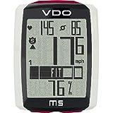 VDO VD55M5W00000000000, Ciclocomputer Unisex Adulto, Nero/Bianco/Rosso, 4 x 1 x 5.5 cm