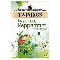 1パックトワイニング純粋なペパーミントティー20 (x 2) - Twinings Pure Peppermint Tea 20 per pack (Pack of 2) [並行輸入品]