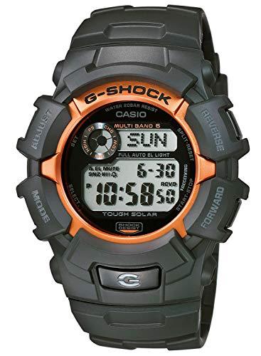 Casio G-Shock Classic Digital Solar-Funkuhr Schwarz/Orange GW-2320SF-1B4ER