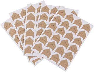 Gnognauq 15 Sheets Photo Picture Corners Self Adhesive Stickers for DIY Scrapbook and Picture Album