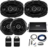"""Kicker 43DSC6504 6.5"""" & 43DSC69304 6x9"""" DS-Series Speakers with..."""