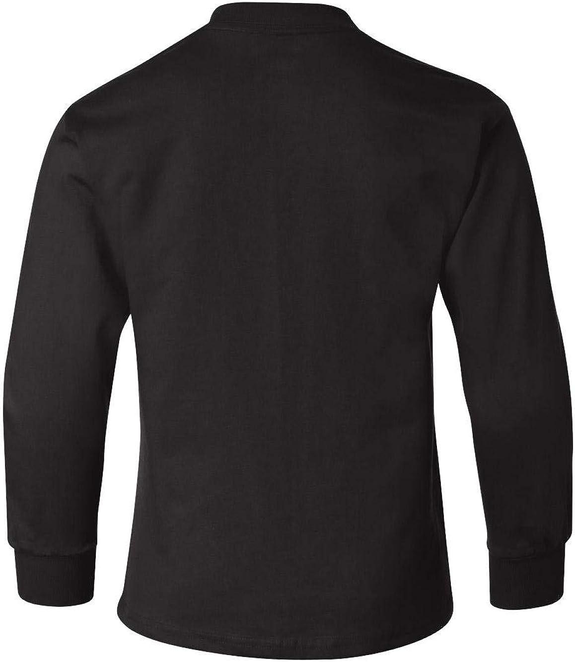 Hanes Youth 6.1 oz. Tagless ComfortSoft Long-Sleeve T-Shirt