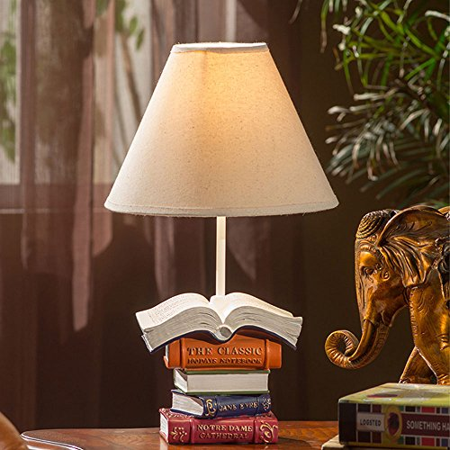 Lampe de table éclairage de luxe chambre lampe lampe de chevet européen de mariage salle de mariage rétro table de marbre lampe éclairage de chevet prise de connexion de charge (27 * 27 * 45) cm