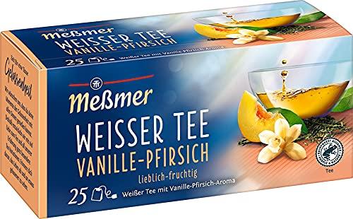 Meßmer Weißer Tee Vanille-Pfirsich, 25 Teebeutel