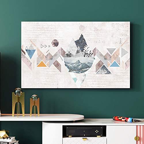 catch-L Geometría Triangular Cubierta De TV Cubierta De Polvo Colgando Caja De La Computadora Cubierta Antipolvo (Color : BH32-9, Size : 24inch)