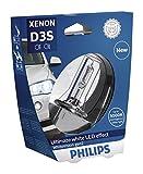 Philips 42403WHV2S1 Lampadina per Fari allo Xenon WhiteVision gen2 D3S, Blister Singolo