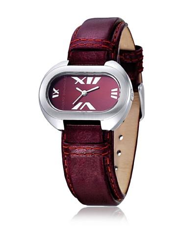 Adolfo Dominguez Watches 69003 - Reloj de Señora Cuarzo Correa de Piel Granate