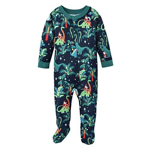 Hedear Familienpyjamas Set Männer und Frauen Baby Kinder mit Hund Pyjamas...