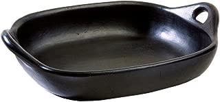 La Chamba Black Clay Roasting Pan, Large