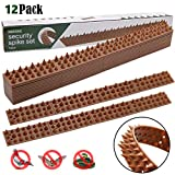 Hausse Bird Spikes, Squirrel Small Birds Pigeons Repellent Spikes for Outdoor, Wall, Fence