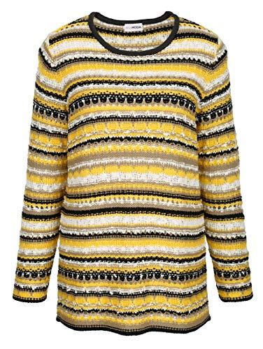 MIAMODA Pullover Gelb
