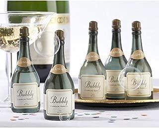 Decoraci/ónn soporte de botella de metal con tarjeta de felicitaci/ón para regalo de boda BRUBAKER Porta botella de vino pareja de novias