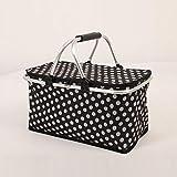 yibuf Multifunktionale Faltbare Einkaufstasche Kaufen Sie Lebensmittel Tragbare Hand Einkaufskorb Mode Einkaufskorb-1