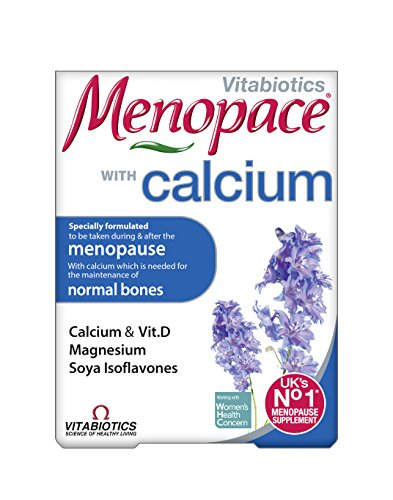 Vitabiotics Menopace Calcium - 60 Tablets