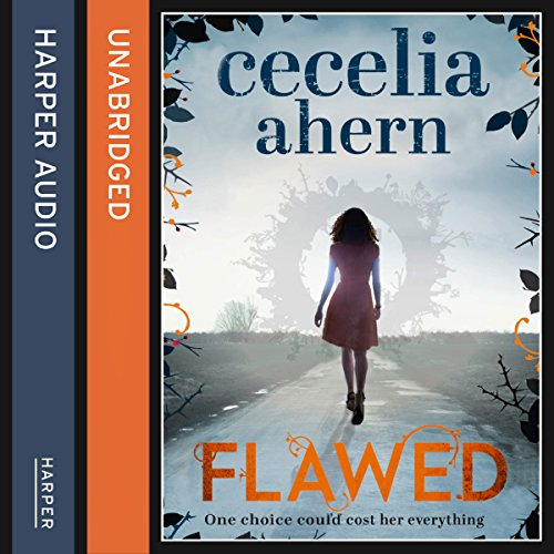 Flawed audiobook cover art