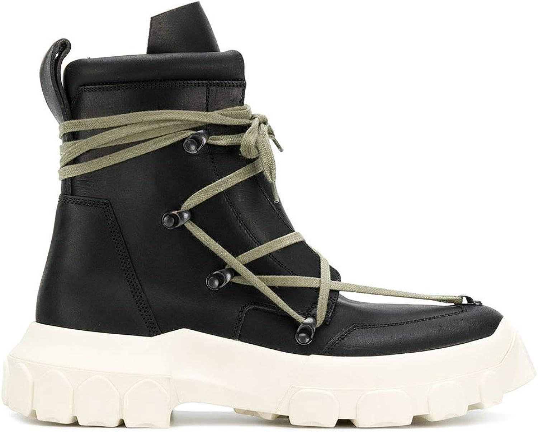 YAN 2018 Unisex-Schuhe Leder Fall & Winter Männer/Frauen Martin Martin Martin Stiefel Gummisohle Rutschfeste Schuhe Paar Schuhe Wanderschuhe,D,38 B07HHTRYLV  c04af7