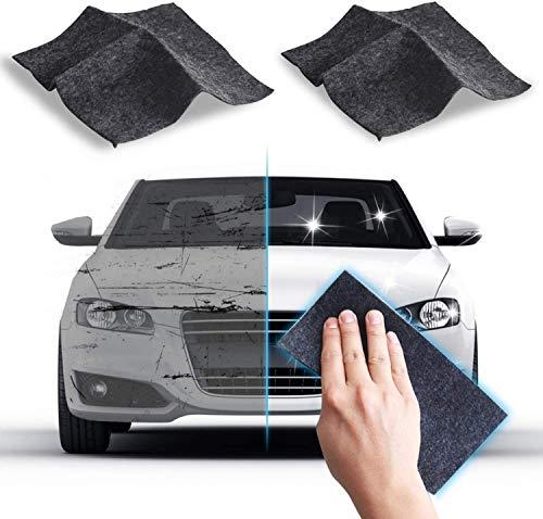 Nano Magic Cloth,Nano Sparkle Cloth,Car Scratch Remover Cloth, Multipurpose Scratch Repair Cloth,Upgraded Version (2pcs)