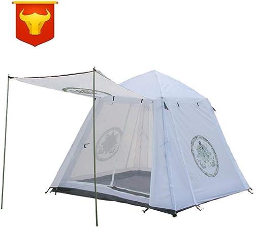 AFFC Tente familiale Double pour 5 à 6 Personnes avec Tente Foyer Convient à la randonnée, au Tourisme, au Camping et à d'autres activités de Plein air.