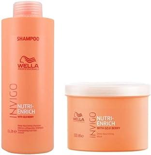 Kit Shampoo e Máscara Wella Nutri Enrich Invigo