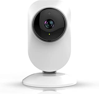 WiFi Camera Indoor, UNIOJO Home Camera with Night Vision, Movement Tracking, Activity Alerts, Cloud Service Available for Baby/Elder/Pet Monitor