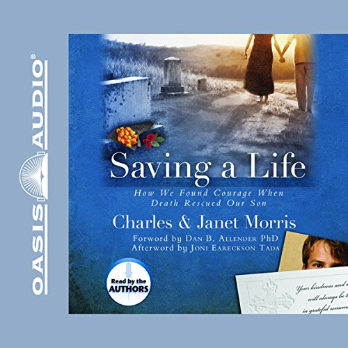 Saving A Life audiobook cover art