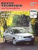 Revue technique de l'Automobile numéro 616.1 - Audi A3 diesel, TDI 90, 110 cv