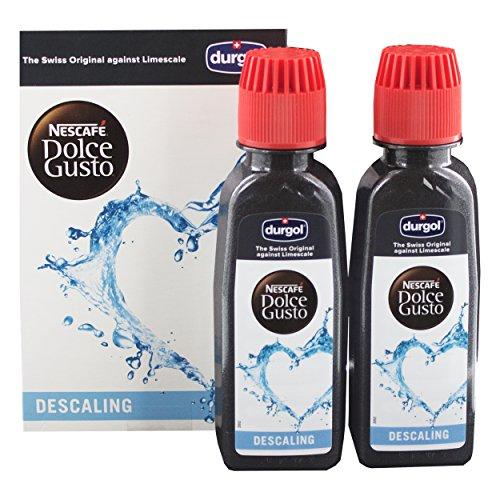 Agua descalcificadora Dolce Gusto Durgol para máquinas de c