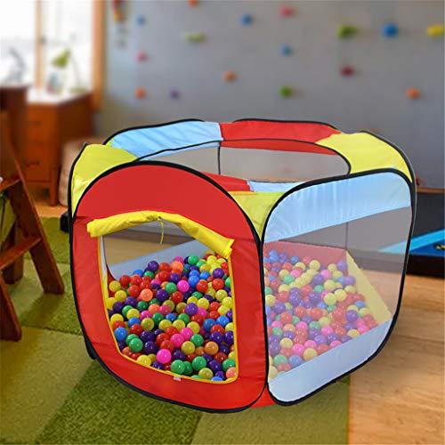 95sCloud Spielzelt Kinderzelt Babyzelt Bällebad Spielhaus Spielhaus Kinderzelt Prinzessinnenzelt Kinderspielzelt Bällebad Spielhaus Kinderzelt für Zuhause & im Garten Mehrweg (Ohne Bälle)