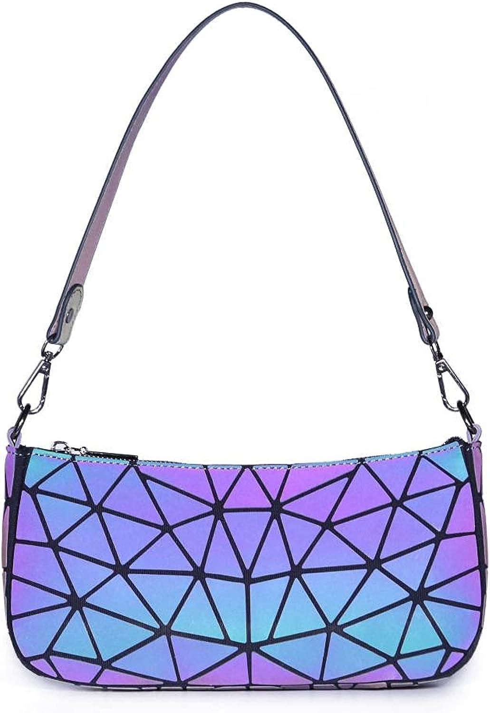 overseas Geometric Luminous Purses and Holographic Very popular Lumikay Handbags Purse