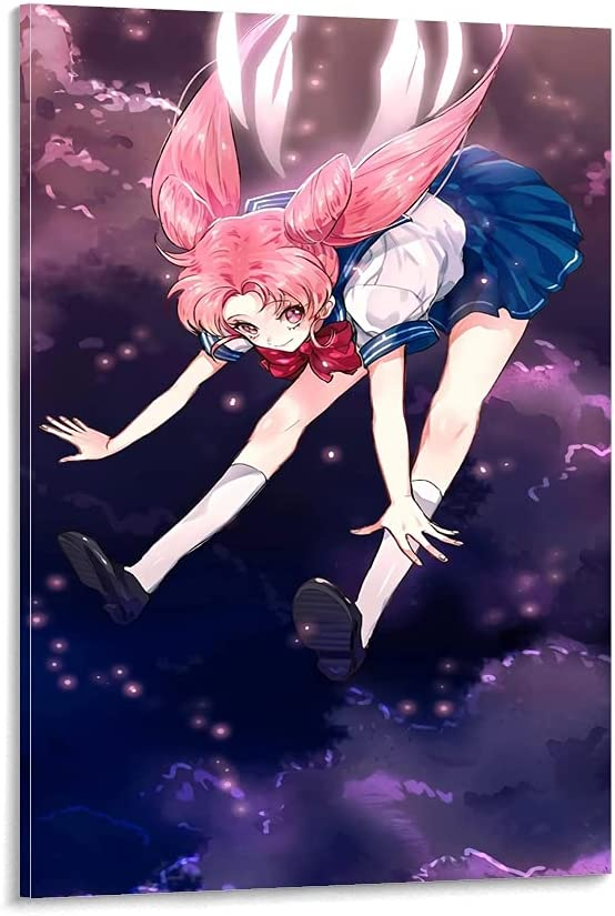 NBNV Anime Poster Sailor Moon Pic Popular shop Wholesale is the lowest price challenge Art and Canvas Wall