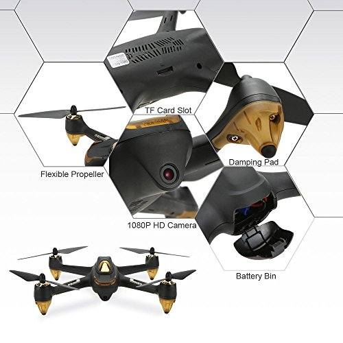 HUBSAN H501S X4 Drone 4 Channel GPS Altitude Mode 5.8GHz Transmitter...