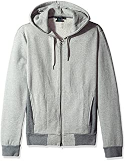 French Connection Men's Multi Melange Sweat Zip-Up