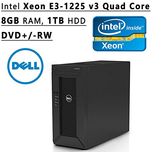Dell Flagship PowerEdge T20 tower Server System| Intel Xeon E3-1225 v3 3.2GHz Quad Core| 8GB...