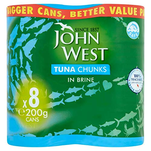 John West Thunfisch Chunks in Sole (je 200 g) 8 Stück