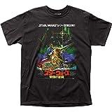 Star Wars - Camiseta para adulto con póster japonés ESB - negro - X-Large
