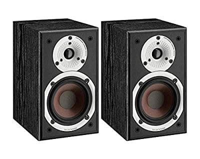 Dali Spektor 1 Bookshelf Speakers (Pair) (Black) (Refurbished) by DALI