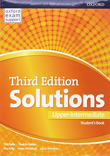 Solutions: Upper Intermediate: Student's Book: Leading the way to success