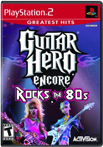 Guitar Hero Encore: Rocks the 80s Greatest Hits - PlayStation 2