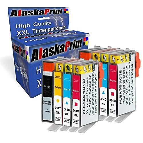 8X Druckerpatronen Komp. mit HP 364 XL 364XL mit HP Photosmart Plus B209a B209b B209c B210a B210b B210c Premium Fax C309a Premium TouchSmart Web C309n