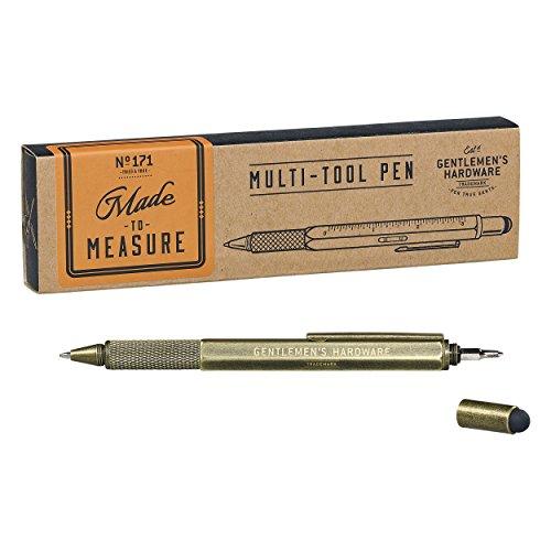 Gentlemen Hardware 6 en 1 bolígrafo multiherramienta